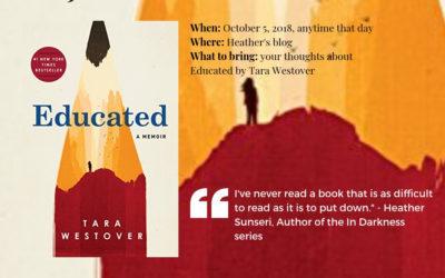 Educated: A Memoir by Tara Westover and How Memoirs Help Novelists