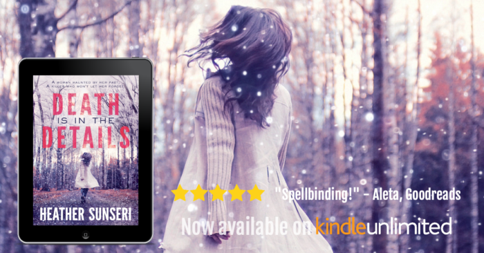 Death is in the Details romantic thriller romantic suspense psychological thriller kindle unlimited